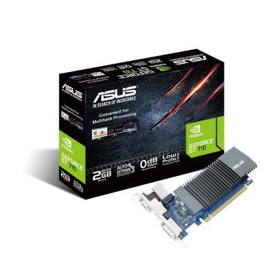 ASUS GT 710 2048MB 64BIT DDR5 LOW PROFILE (SL-2GD5-BRK)