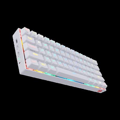 REDRAGON DRACONIC WIRED/BLUETOOTH RGB MECHANICAL KEYBAORD (WHITE)