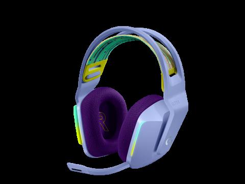[PRE-ORDER] LOGITECH G733 LIGHTSPEED WIRELESS RGB GAMING HEADSET (LILAC)