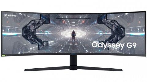 "SAMSUNG ODYSSEY G9 LC49G95TSSEXXP 49"" 5K LED CURVED GAMING MONITOR 240HZ WLMNT (HDMI, 2XDP, 2XUSB)"