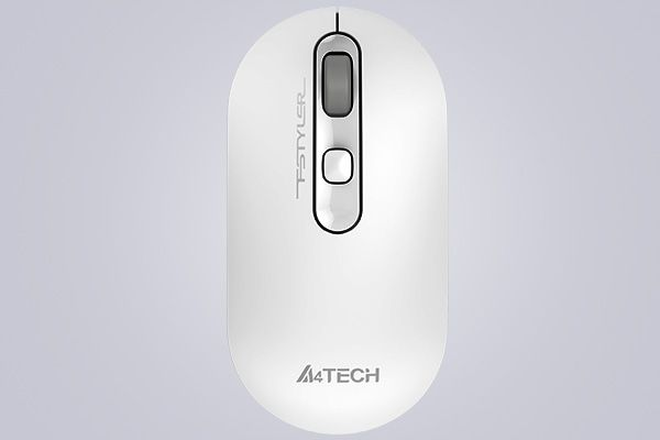 A4TECH FG20 FSTYLER 2.4GHZ WIRELESS OPTICAL MOUSE (WHITE)
