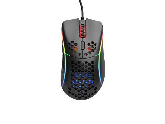 GLORIOUS MODEL D- GAMING MOUSE (MATTE BLACK)