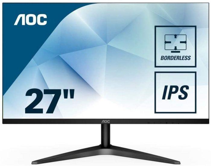 "AOC 27B1H 27"" ULTRA SLIM FHD IPS LED MONITOR (VGA, HDMI)"