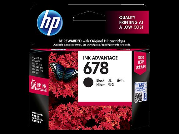 HP CZ107AA (678) BLACK INK CARTRIDGE