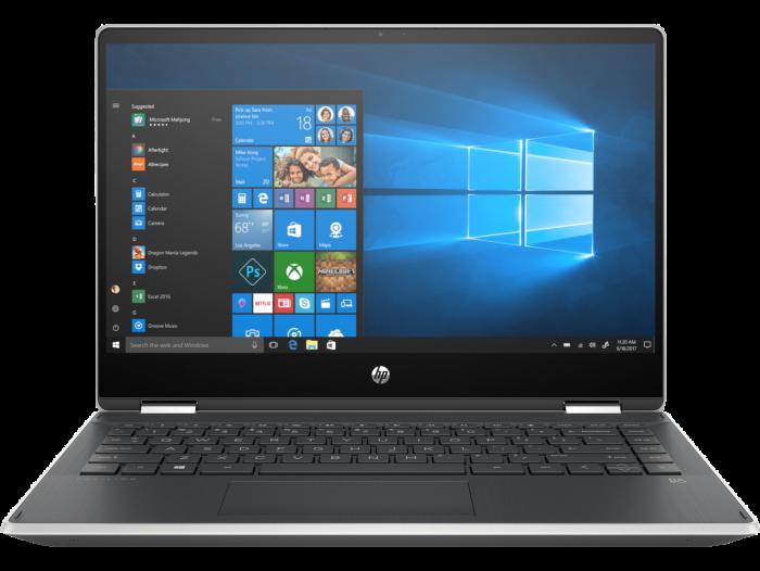 HP PAVILION X360-14-DH1177TU (1Y0A4PA) I3-10110U/4GB/256GB SSD/14/W10H/OFC19HS (SLV)