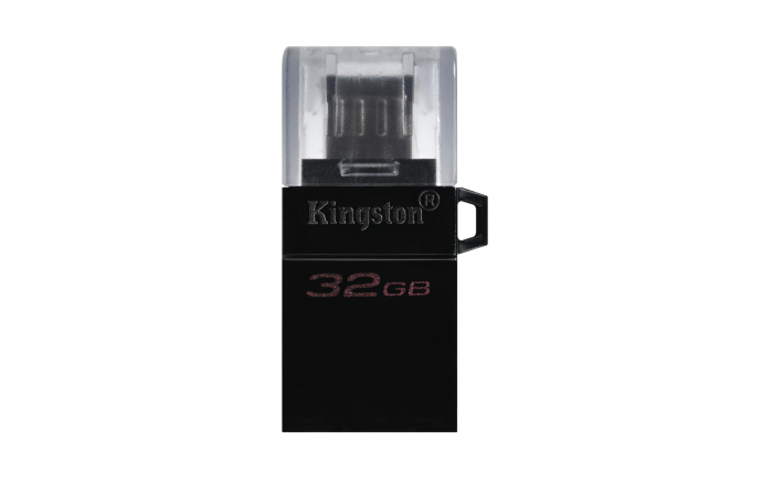 KINGSTON DATA TRAVELLER 32GB DTDUO USB3.0 G2 OTG FLASH DRIVE
