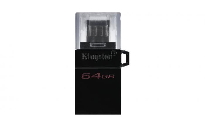 KINGSTON DATA TRAVELLER 64GB DTDUO USB3.0 G2 OTG FLASH DRIVE