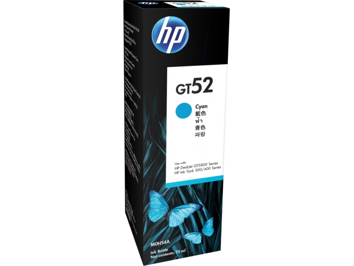 HP M0H54AA (GT52) CYAN INK BOTTLE