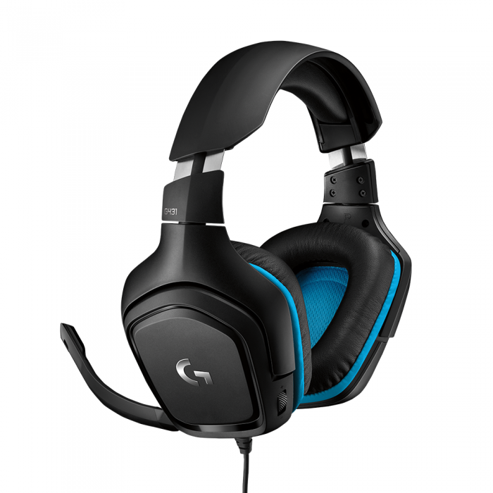 LOGITECH G431 7.1 SURROUND USB GAMING HEADSET