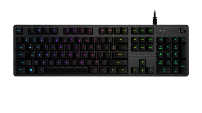 LOGITECH G512 LIGHTSYNC RGB MECHANICAL GAMING KEYBOARD (ROMER-G LINEAR)