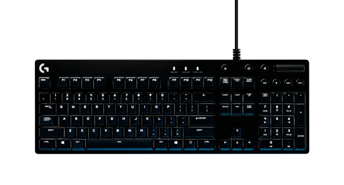 LOGITECH G610 ORION BLUE SWITCH BACKLIT MECHANICAL GAMING KEYBOARD