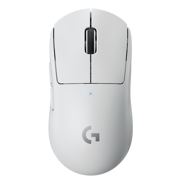 LOGITECH G PRO X SUPERLIGHT WIRELESS GAMING MOUSE (WHITE)