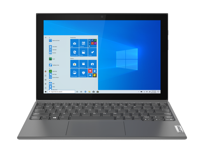 LENOVO IDEAPAD DUET 3-10IGL5-82AT006TPH PEN-N5030/8GB/128GB EMMC/10.3/W10H/DETACHABLE (GRY)