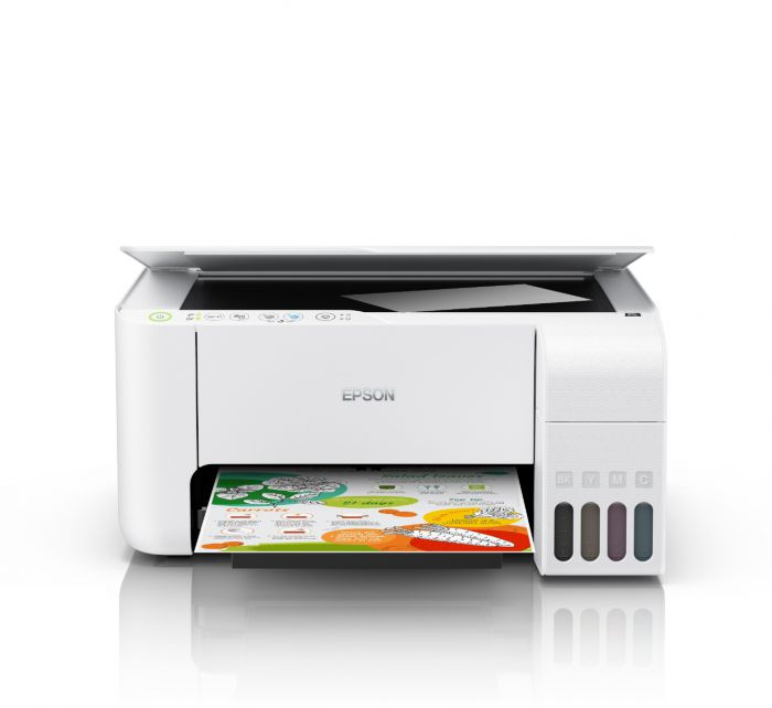 EPSON L3156 AIO (INK TANK) PRINTER W/ WIFI (WHITE)
