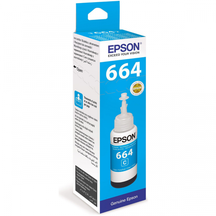 EPSON T6642 CYAN INK BOTTLE