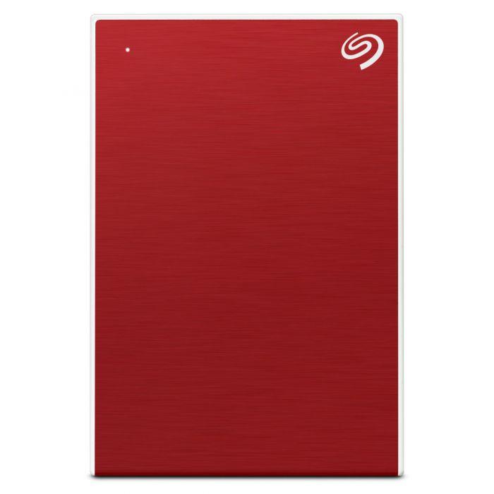 SEAGATE 1TB BACKUP PLUS SLIM PORTABLE DRIVE USB 3.0 (STHN1000403) RED