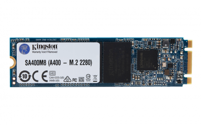KINGSTON 120GB A400 M.2 2280 SATA 6GB/S SSD (SA400M8/120G)