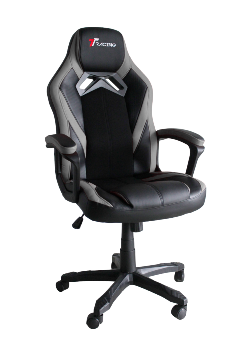 TT RACING DUO V3 GAMING CHAIR (BLACK/GRAY)