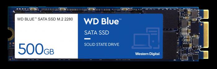 WESTERN DIGITAL 500GB BLUE SN550 NVME SSD (WDS500G2B0C) M.2 PCIE 2280
