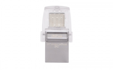 KINGSTON DATA TRAVELLER 32GB DTDUO3C USB3.1 TYPE-C OTG FLASH DRIVE