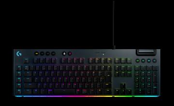 LOGITECH G813 LIGHTSYNC RGB MECHANICAL GAMING KEYBOARD - GL CLICKY (WHITE)