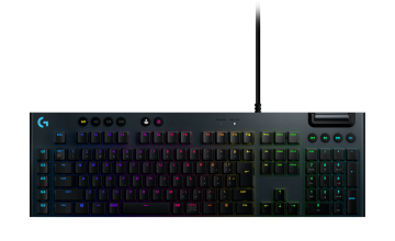 LOGITECH G813 LIGHTSYNC RGB MECHANICAL GAMING KEYBOARD - GL LINEAR (RED)