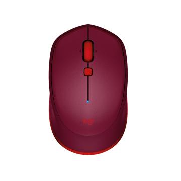 LOGITECH M337 BLUETOOTH MOUSE (RED)