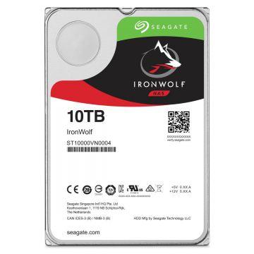 SEAGATE 10TB IRONWOLF 7200RPM SATA 6GB/S (ST10000VN0008) 256MB