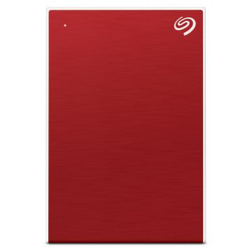 SEAGATE 5TB BACKUP PLUS PORTABLE DRIVE USB 3.0 (STHP5000403) RED