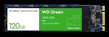 WESTERN DIGITAL 120GB GREEN SSD (WDS120G2G0B) M.2 SATA 6GB/S 2280
