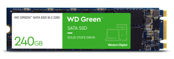 WESTERN DIGITAL 240GB GREEN SSD (WDS240G2G0B) M.2 SATA 6GB/S 2280